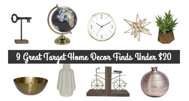 9 Great Home D Cor Finds Under 20 From Target