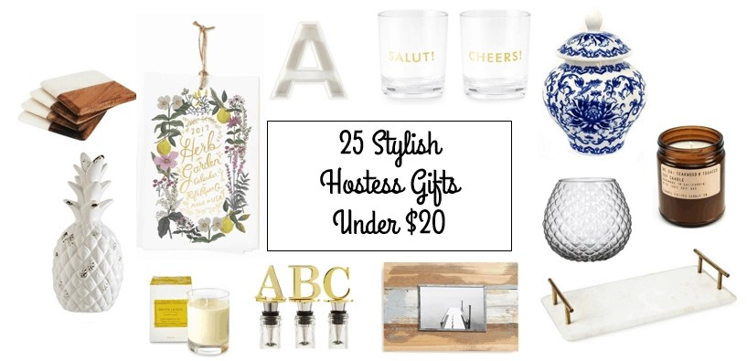 25 Stylish Hostess Gifts Under $20