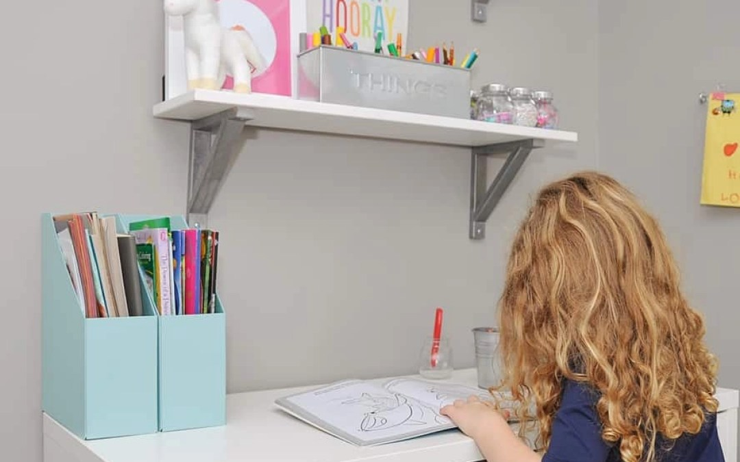 How to Organize Art Supplies for Kids Playrooms (Plus the Easiest IKEA Hack Ever)