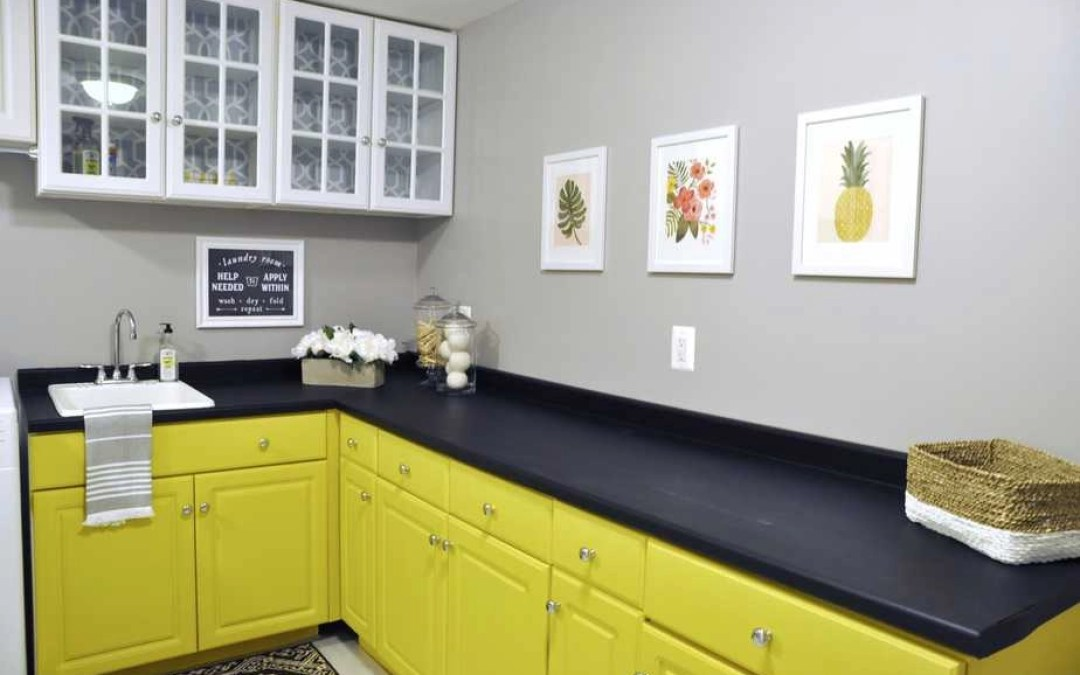 How To Paint Laminate Cabinets With Chalk Paint Kate Decorates