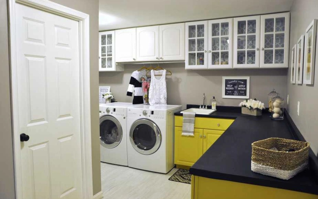 Our Laundry Room Makeover is Featured on Apartment Therapy (!!!)