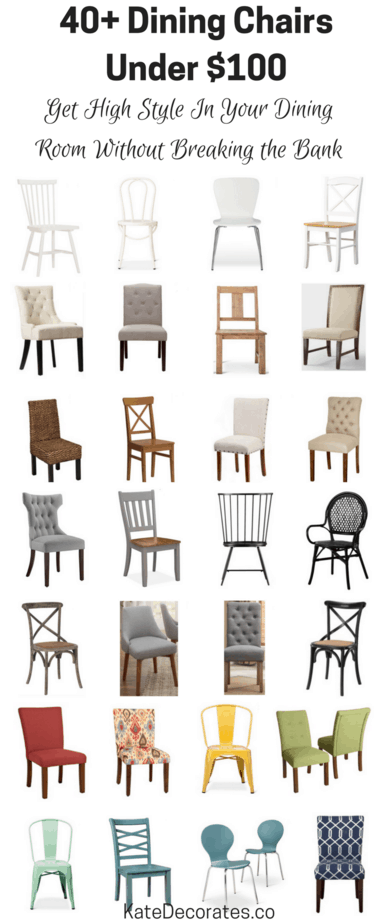 Affordable Dining Chairs Kitchen Roundup Under 100