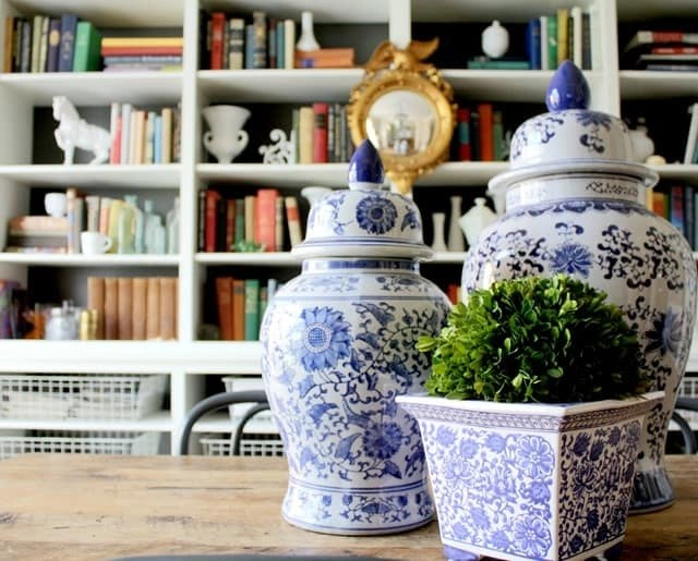 12 Blue and White Chinese Porcelain Ginger Jars That Are $50 or Less