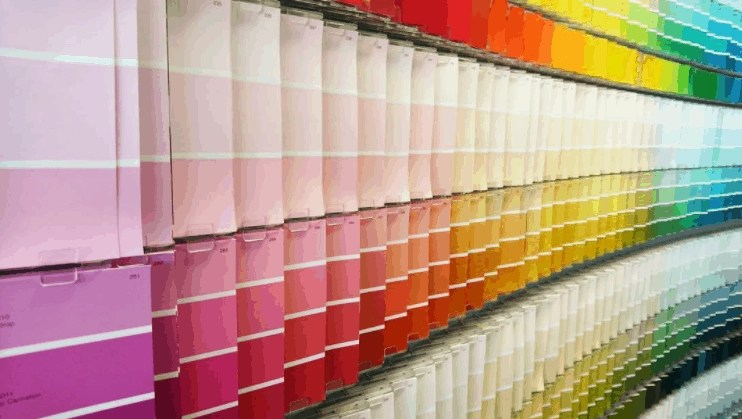 paint display colors