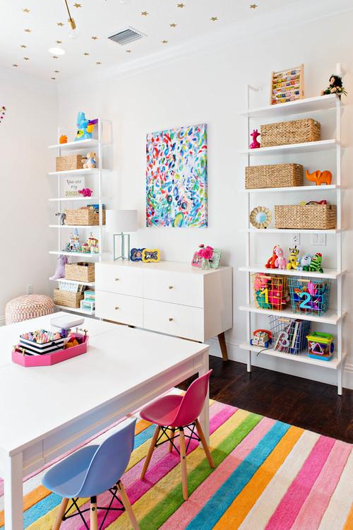 colorful playroom ideas