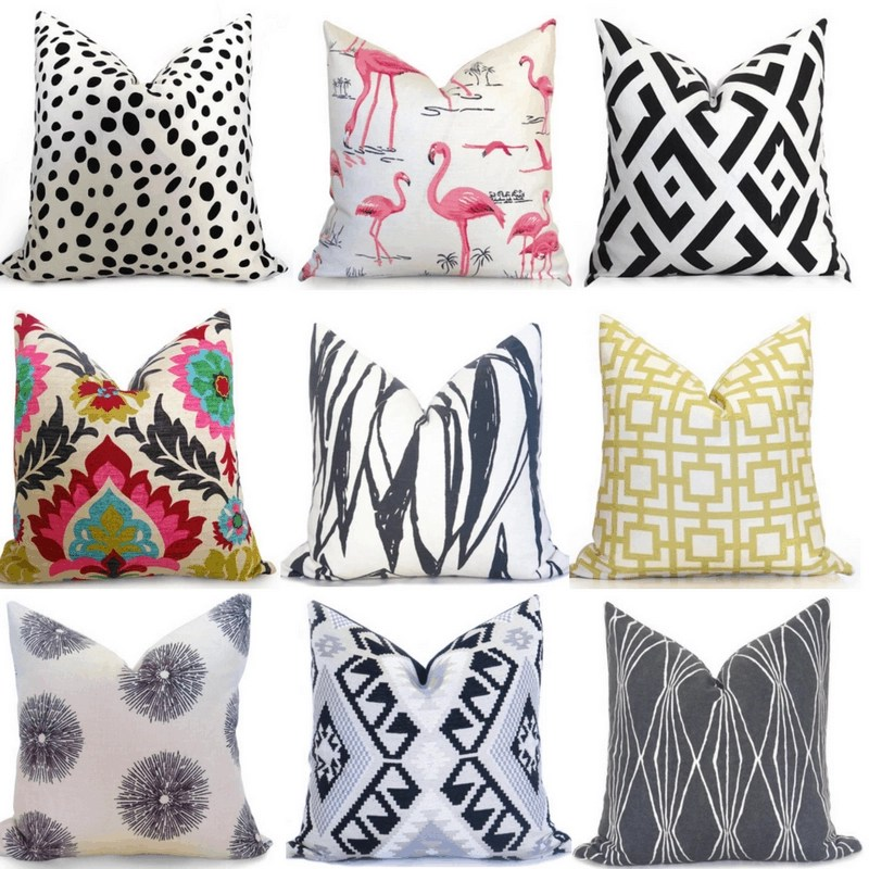 favorite etsy shops for throw pillows