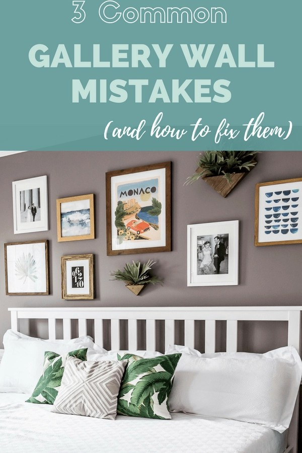 Want to create the perfect gallery wall? These three tips are the only ones you'll need!