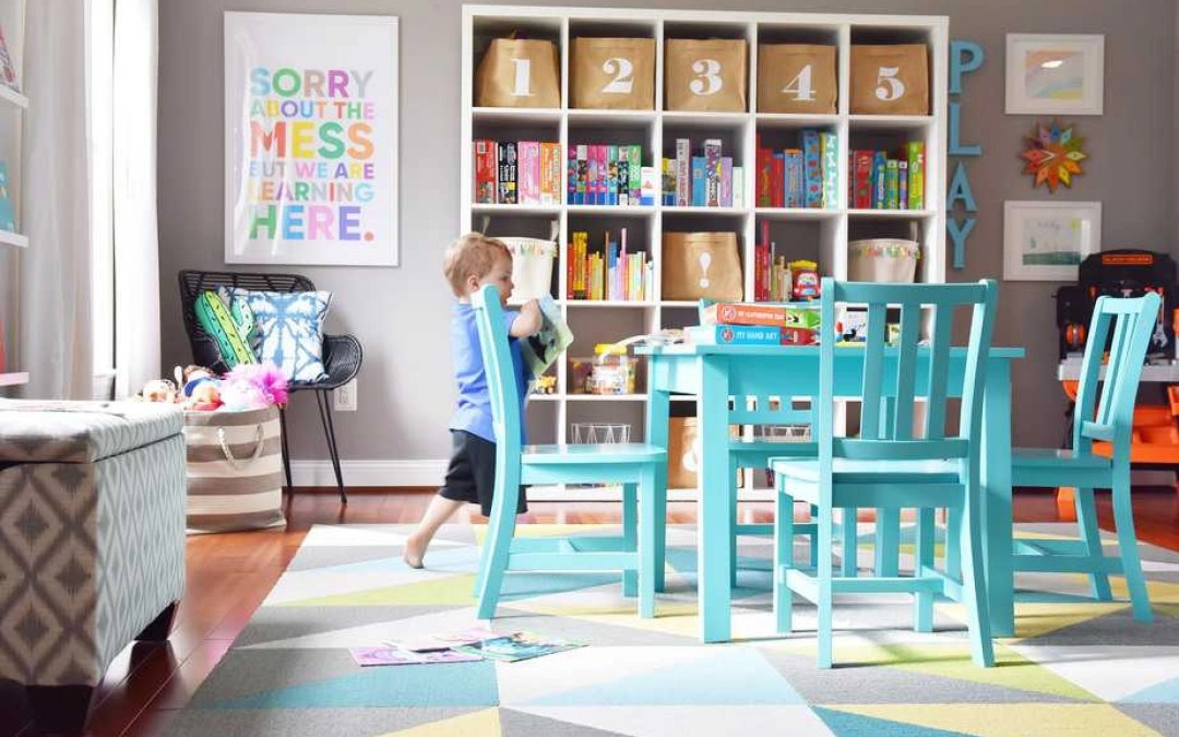 Our Modern, Colorful Kids Playroom: How to Create a Stylish and Functional Play Space