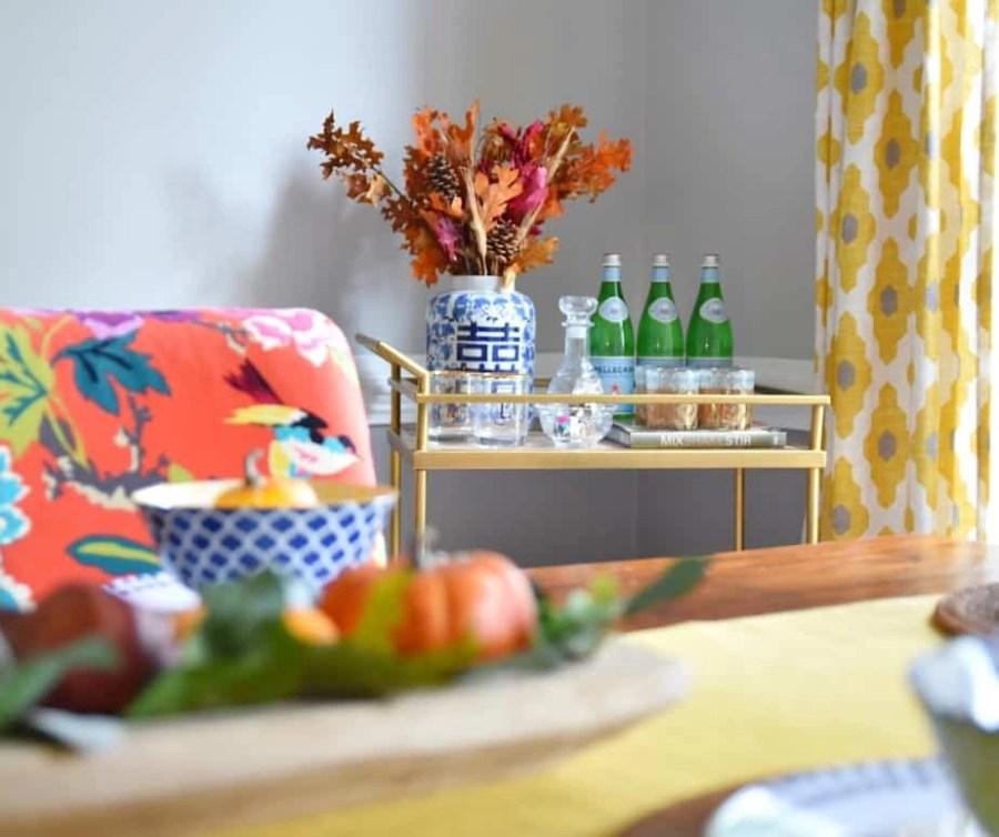 easy fall dining room decor 6