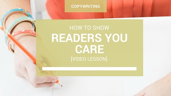 How to Show Readers You Care