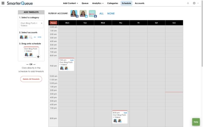Scheduling with Smarterqueue