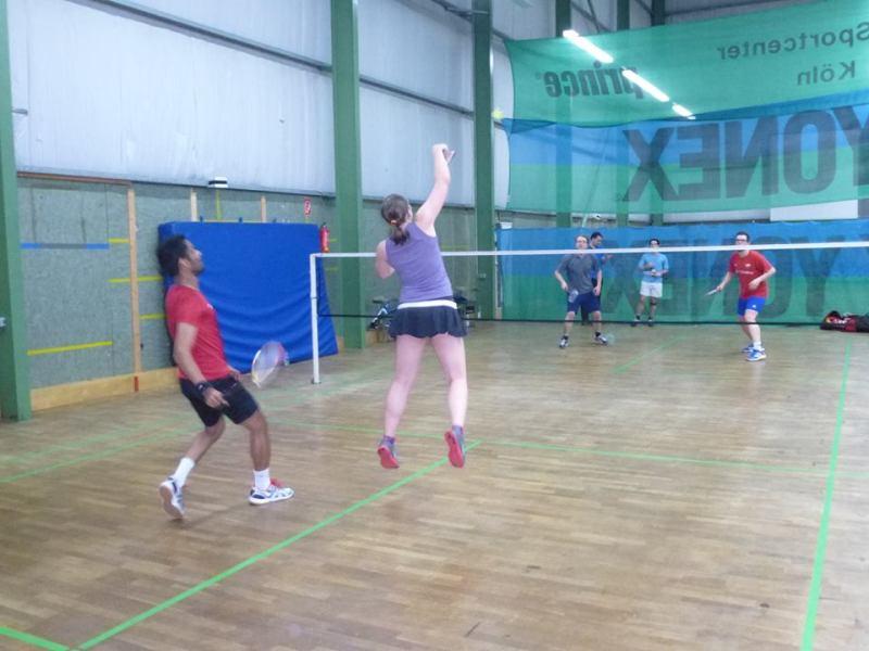 """Wie ich mich im Badminton-Labyrinth verlief bzw. """"Spielst du Tennis?!"""""""