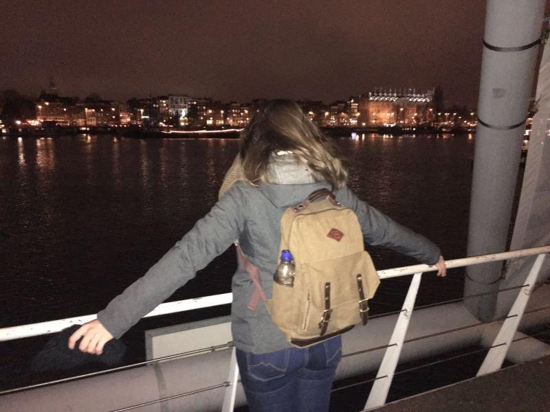 Huhn unterwegs: Trip to Amsterdam