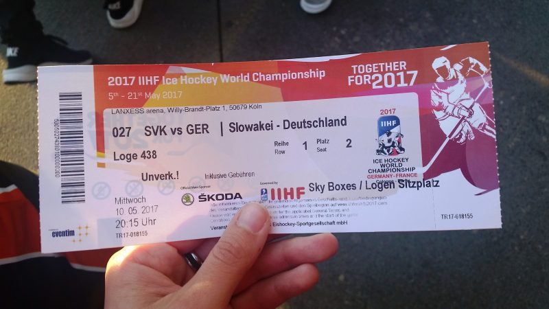 It's hockey time! Meine Premiere bei der IIHF World Championship