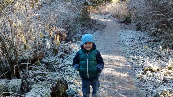 Hiking is an excellent activity to do with young kids
