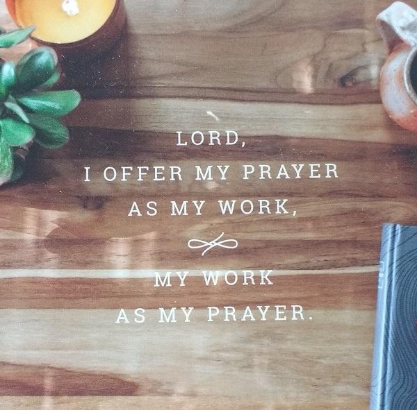 prayer for work