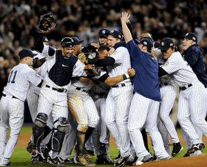 The World Series Champion 2009 Yankees