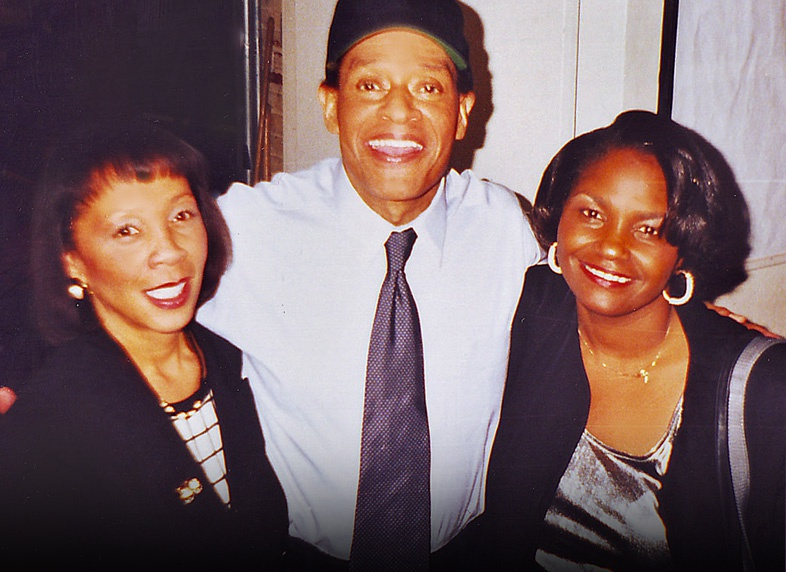 Hanging out with Al Jarreau