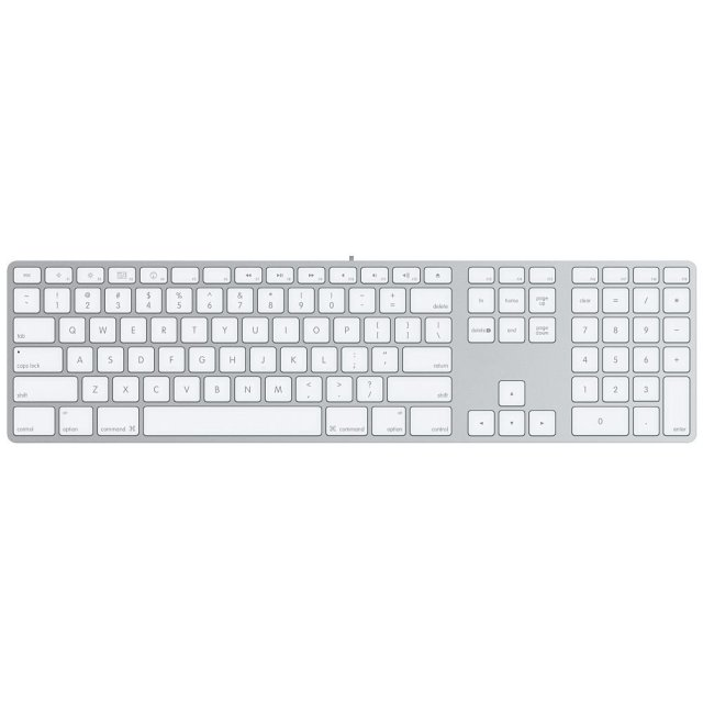 chiclet keyboard - keys are shaped like chiclets.
