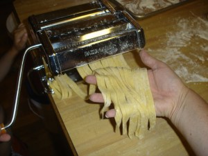 Cutting the Noodles