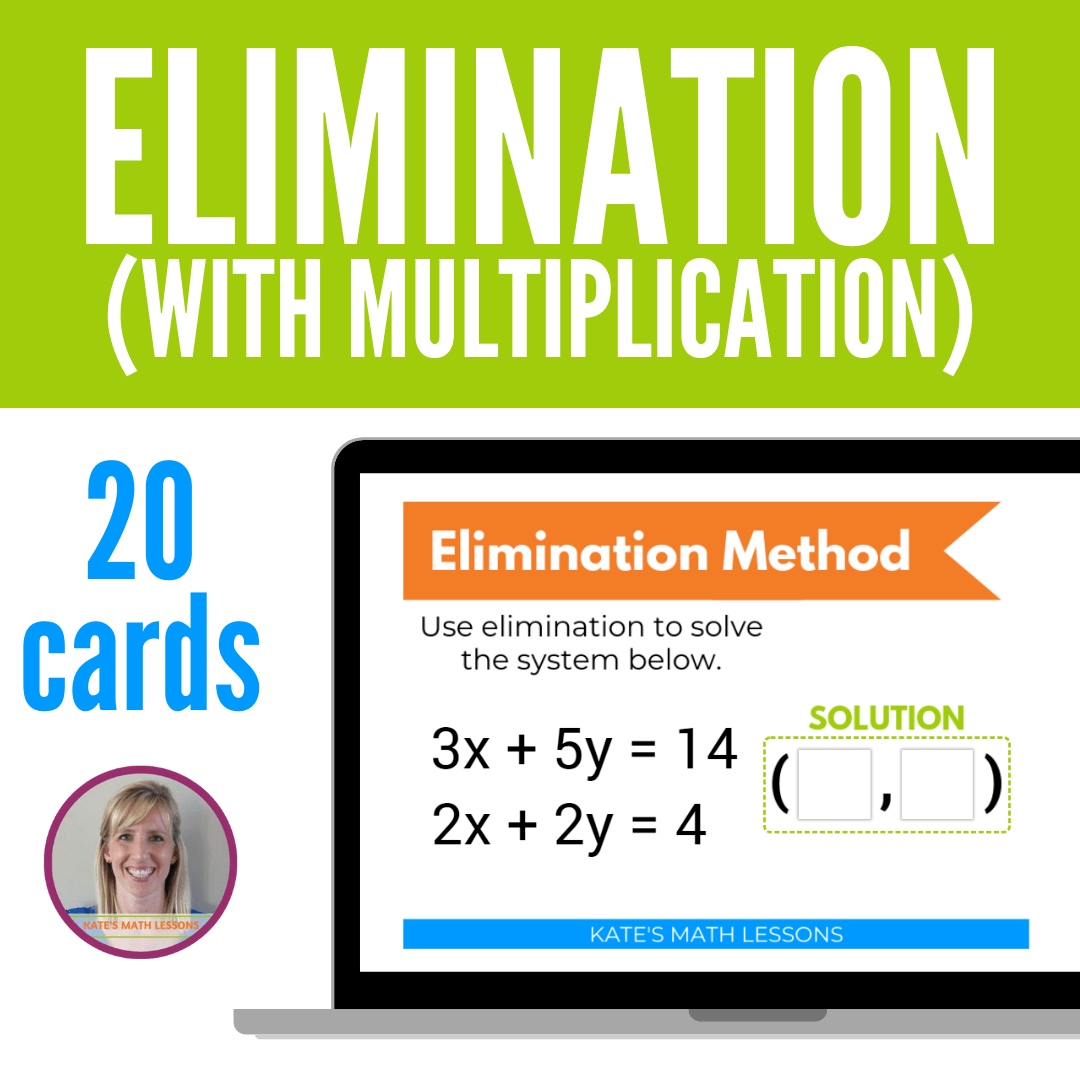 Solving A System Of Equations With Elimination