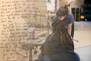 Image of Kayla & Kate with writing overlaid