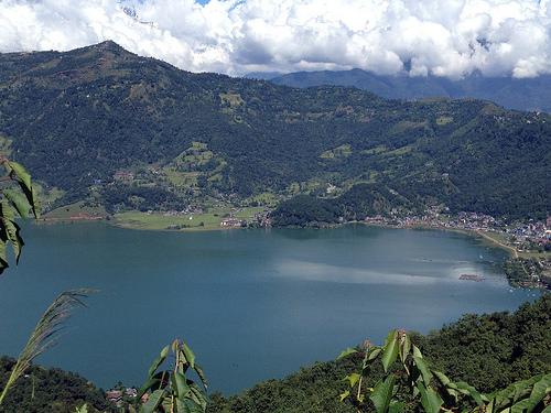 Phewa Lake in Pokhara.