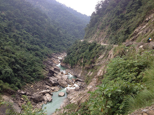 River in Nepal.