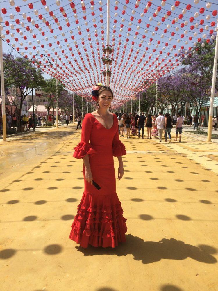 flamenco dress spain