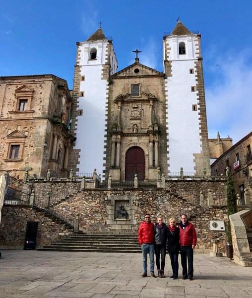 tour caceres church san javier