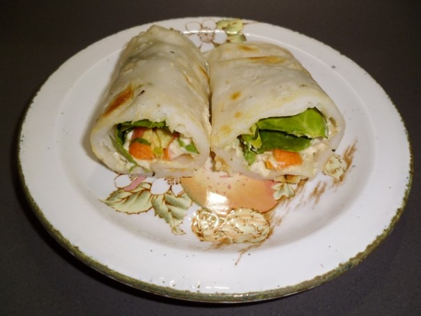 Gluten free tortilla wrap
