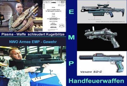 EMP Handfeuerwaffen