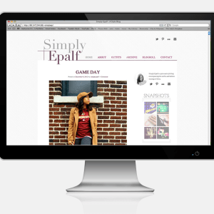 simply epalf web design