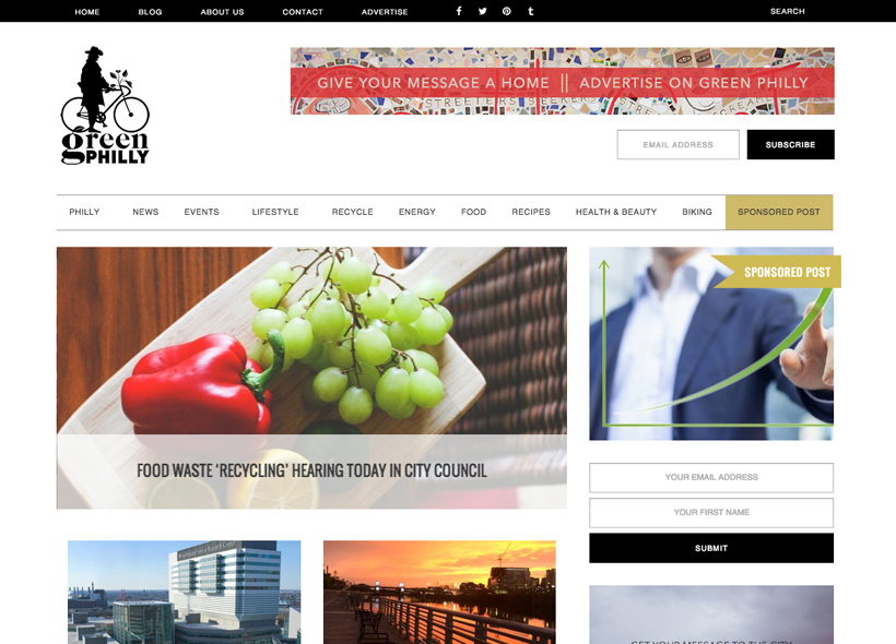 green_philly_blog_design_portfolio