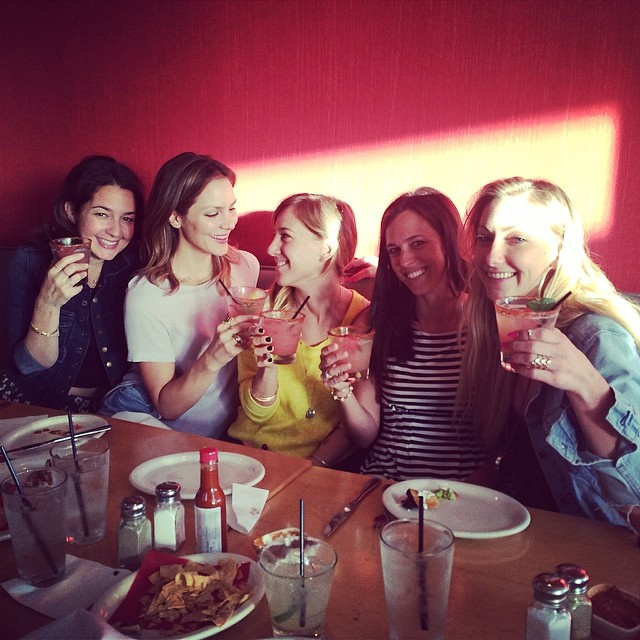 Celebrating with my girls #grateful