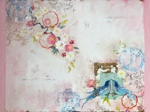 Love Letters, 36 x 48 inches, 530 Burns Gallery, Sarasota, Florida