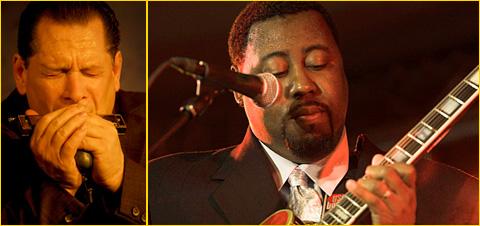 Eddie Taylor Jr. & Steve Guyger στο Half Note Jazz Club