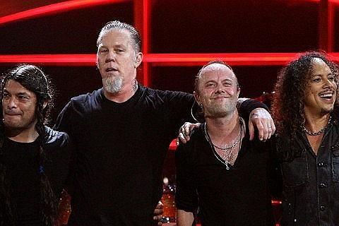 Οι Metallica θα τιμηθούν για τη συνολική τους συνεισφορά στη μουσική