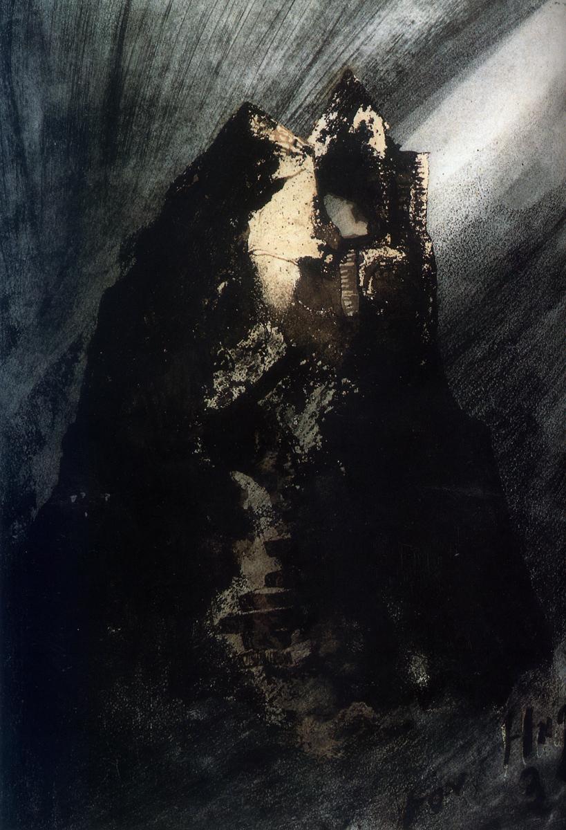 Victor Hugo - Aiguille rocheuse