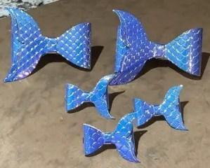 5 fish bows brown
