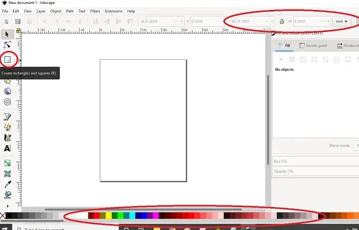 Rectangle SVG