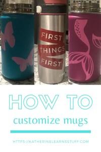 how to make a customized mug