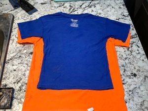 How to Make a Kids Shirt Smaller