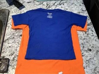 make a kids shirt smaller