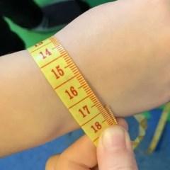 bracelet wrist measurement