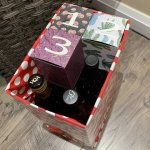 wine advent calendar assembly