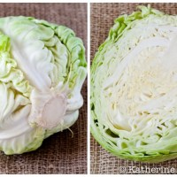 Vegetarian Braised Cabbage and a St. Patrick's Day Blog Hop