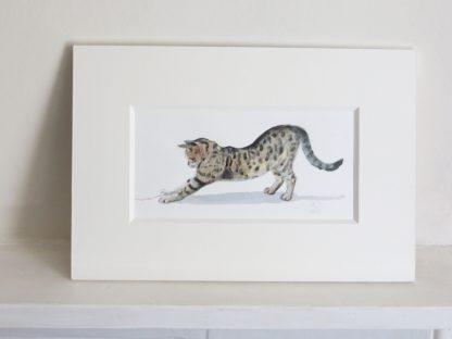 Bengal Cat Painting
