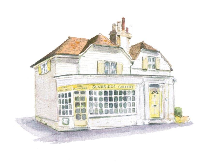 Sundridge Gallery illustratration