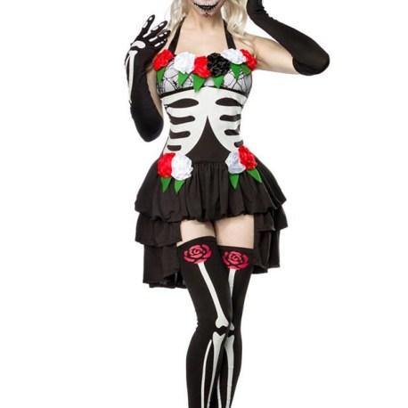 Mexican Skeleton Komplettset MASK PARADISE EAN: 4250738663213